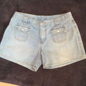 NWOT Ralph Lauren polo denim short shorts